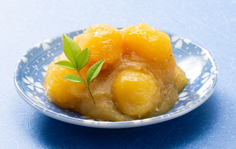 芋の風味際立つ 石川県産五郎島金時栗きんとん