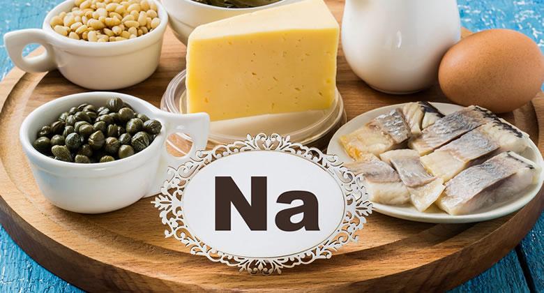 ナトリウムのはたらきと摂取量・食塩相当量について